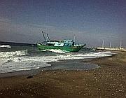 Il barcone (foto Marangon)