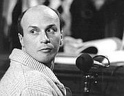 Bologna 12 settembre 1984. Sergio Calore al processo Nar per terrorismo (Fotogramma)