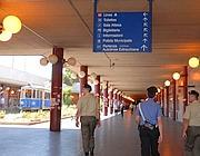 Il capolinea della Linea A del metr� Anagnina (Proto)