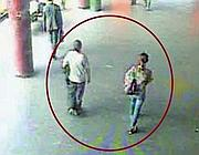 Un fotogramma ripreso dal video della stazione Anagnina