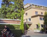 La clinica Villa Fulvia dove lavora la donna colpita (Lapresse)