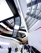 Curve e luce: l'interno del Maxxi (foto Eidon)
