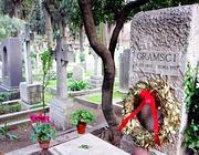 La tomba di Gramsci al cimitero acattolico