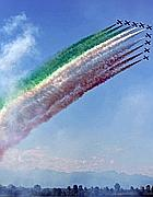 Frecce Tricolori in formazione (Proto)