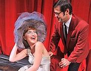 Lydia Giordano con Greg