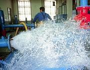 Centrale di filtraggio di un acquedotto (Newpress)