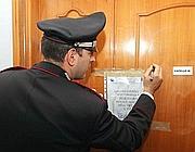 L'appartamento di Terracina dove è avvenuto il delitto (Ansa)