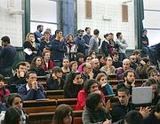 Studenti de La Sapienza in assemblea (Eidon)