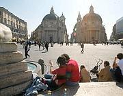 Piazza del Popolo: il vertice del Tridente