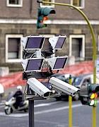 Telecamere su un varco elettronico del centro di Roma
