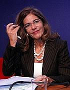 Emma Marcegaglia, la leader degli industriali (Ansa)