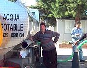 Distribuzione di acqua