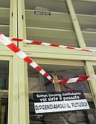L'ingresso (occupato) di Scienze Politiche (Eidon)