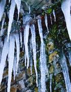 Stalattiti di ghiaccio a Nemi, Castelli Romani  (Eidon)