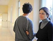 Cristiano con la madre in ospedale (foto Mario Proto)