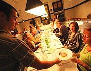 Una cena da «Primo» al Pigneto (foto Jpeg)