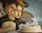 La locandina del Mibac «L'arte ti fa gli auguri»