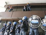 Un'immagine degli scontri di ottobre (Ansa)