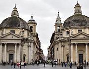 Piazza del Popolo da cui parte il Tridente: via del Babuino, via del Corso, via di Ripetta (Eidon)