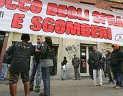 Una manifestazione anti sfratti a Roma (Eidon)