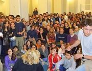 Assemblea al «Mamiani» di Roma (foto Lapresse)
