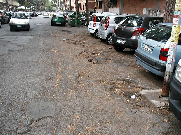 Radici scomode foto del giorno corriere roma for Appoggiarsi all aggiunta del garage
