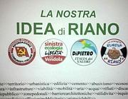 I simboli dei partiti che hanno creato la lista bilingue a Riano