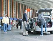 Taxi a Termini (foto Jpeg)