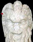 Testa di Fauno di pregevole fattura, a cavallo tra I e II secolo