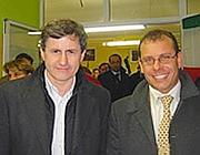 Con Gianni Alemanno (foto tratta dal sito ufficiale del consigliere)
