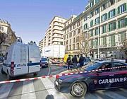 Carabinieri sul luogo dell'incidente (Proto)