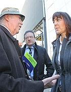 Manlio Cerroni con Renata Polverini (foto Jpeg)