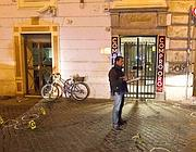 La gioielleria dove la vittima fu gambizzata lo scorso febbraio(Proto)