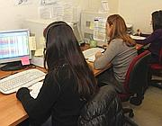 Un call center a Roma