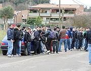La contestazione dei tifosi (Bartoletti)