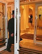 L'ingresso dell'Eden hotel a via Ludovisi