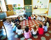 Una scuola materna (Fotogramma)