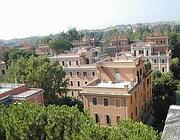 Una panoramica deil quartiere Parioli