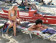Ambra Angiolini e la Zanella, inedita coppia lesbica nel film