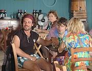 Il «Libanese» Montanari diventa un personaggio da spiaggia nel nuovo film