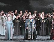 Il «Nabucco» all'Opera di Roma (Ansa)