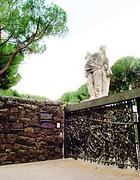 L'ingresso del Memoriale delle Fosse Ardeatine