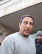 Andrea Antonini all'uscita dall'ospedale (Mario Proto)