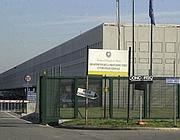 L'ingresso del «Cara» a Castelnuovo (foto Proto)