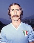 Luigi Polentes con la maglia dello scudetto (Olycom)