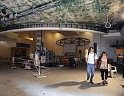 Un interno dell'ex cinema Palazzo a San Lorenzo