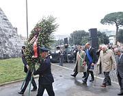Le celebrazioni del 25 aprile a porta San Paolo