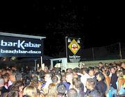 La discoteca Barkabar sul litorale di Ostia, luogo della rissa (foto Faraglia)