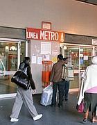 Una stazione della linea A a Roma