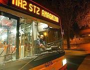 Servizio bus sostitutivo per Anagnina (foto Jpeg)